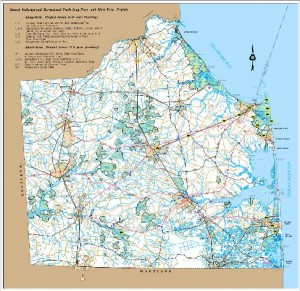 DelDOT and DNREC Sign Agreement to Move Forward with ...  Dover Delaware Road Map