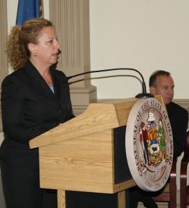 OMB Director Ann Visalli