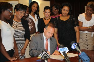 Governor Signs Bill Requiring Credit Check