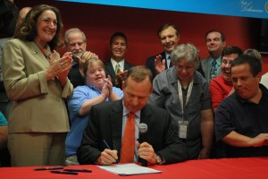 """Governor signing """"Employment First"""" bill into law"""