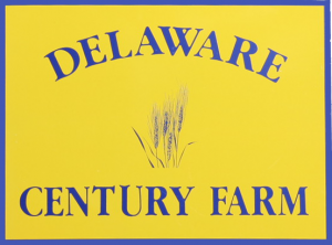 Century Farms sign