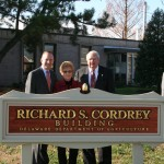Gov. Jack Markell and Richard and Mary Jane Cordrey