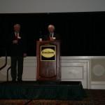 Walter C. Hopkins and Secretary Ed Kee