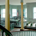 Courtroom inside The Old State House.