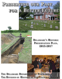 Photo of Delaware Historic Preservation Plan 2013-2017 cover