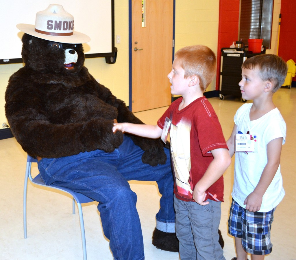 Smokey Bear_McIlvaine Early Childhood Center_2013 (3)