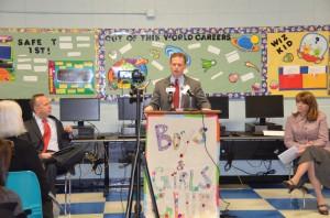 Lt. Governor Matt Denn announces funding recipients