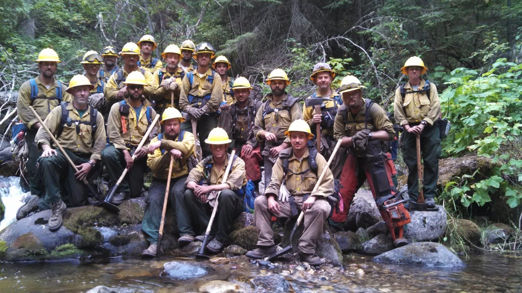The Delaware Forest Service (DFS) dispatched a 20-person crew that battled a blaze in Idaho's Payette National Forest in August, 2013. The agency is seeking recruits for upcoming training classes at the State Fire School in Dover that will begin in January. Registration deadline is January 3.