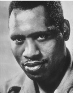 "Paul Robeson will be featured in the program, ""The Struggle,"" on Jan. 18, 2016."