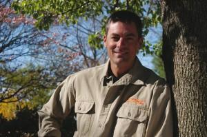 Mark Chisholm, tree climbing champion