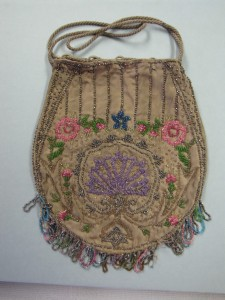"Beaded purse, c. 1900–1910. From the collections of the state of Delaware. The purse will be featured in the ""Simple Pleasures: Picnic, Play and Dance"" display at The Old State House."