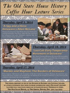 Old State House History Coffee Hour Lecture Series poster