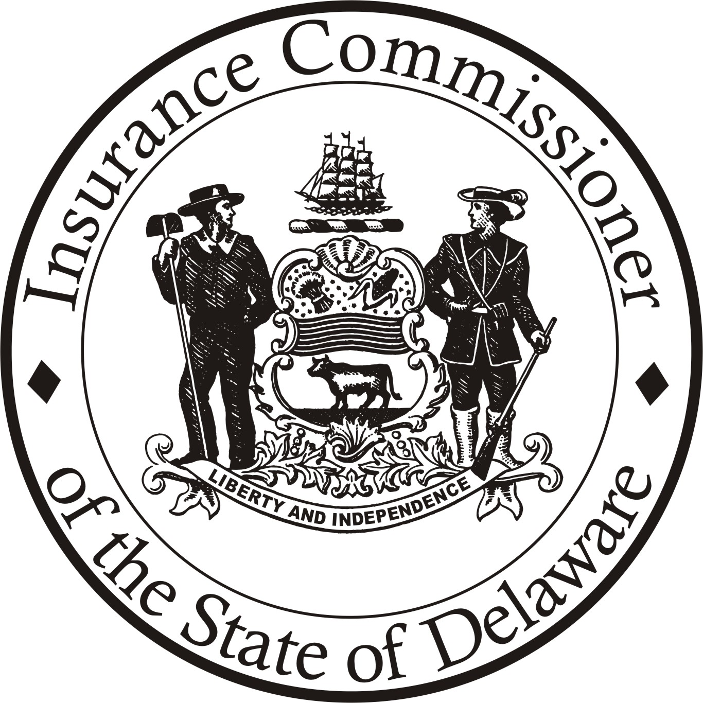 Picture of the Seal of the Delaware State Insurance Commissioner