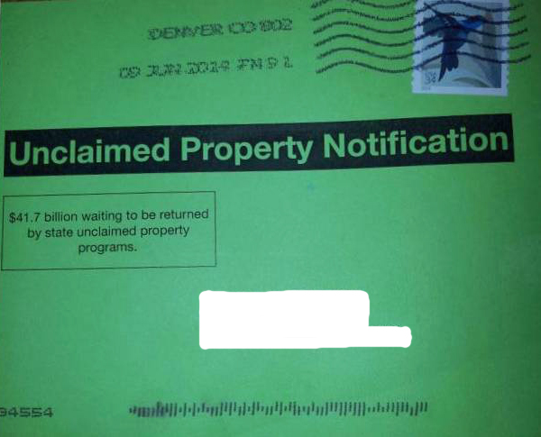 State Of Delaware Unclaimed Property