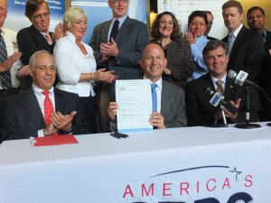Governor Markell signed House Bill 318, which relates to the state research and development tax credit.