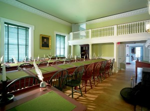 "The House of Representatives chamber in Dover's Old State House will be one of the locations featured in the program ""The People's House"" on Nov. 8, 2016. Photo by Don Pearse Photographers."