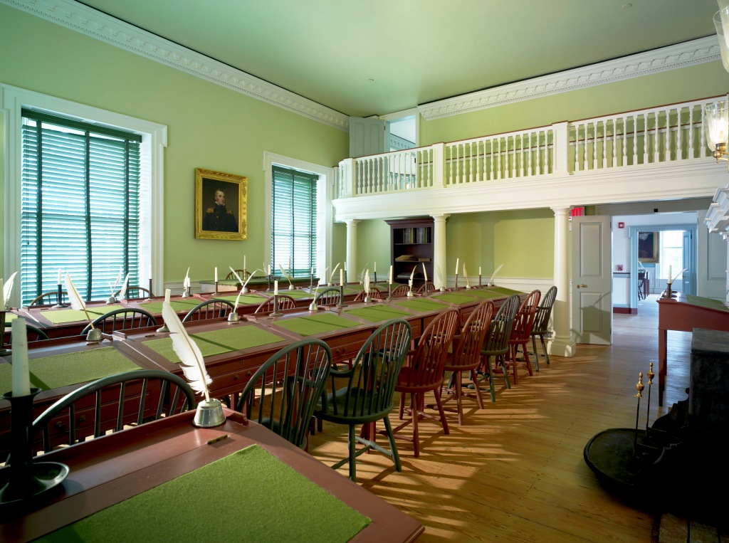 House of Representatives chamber in The Old State House. Photo by Don Pearse Photographers.