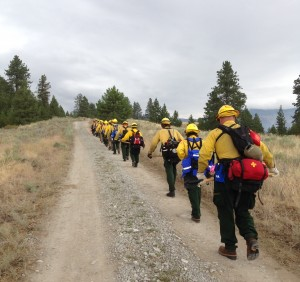 One of Delaware's wildfire crews spent two weeks in the summer of 2014 battling fires in Washington State.