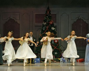 "Scene from the Ballet Theatre of Dover's production of ""The Nutcracker."" A glimpse into the story and characters of the ballet will be presented during the ""Nutcracker Storytime"" event on Dec. 5, 2014."