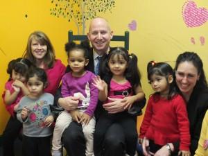Governor Markell visits La Fiesta Child Care Center