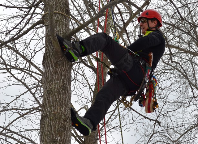 Champion climber and tree expert Thomas Whitelock of Advanced Arborist Solutions will present at the 5th Annual Delaware Arborist and Tree Care Seminar at Hagley Museum on March 3 and 4. Cost is $90 with lunch included.