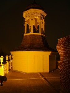 Bell tower at Dover's Old State House. The site's bell will ring at 3:15 p.m. on April 9, 2015 in commemoration of Robert E. Lee's surrender at Appomattox in 1865.