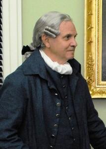 Historical interpreter Tom Welch will portray Delaware's Revolutionary War hero Allen McLane on April 9, 2015.