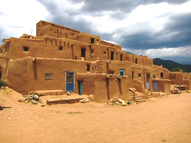 Taos Pueblo, New Mexico. Photo by J. Wells.