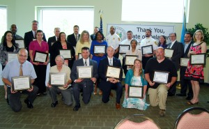 Governor Jack A. Markell recognized nominees and recipients of the Delaware Award for Excellence and Commitment in State Service at a ceremony on May 5, 2015 in Dover.