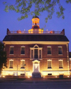 "The Old State House will be featured in the program, Dates of Distinction: Birth and Re-Birth of a State House,"" on Oct. 3."