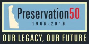 Preservation50 logo