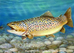 2017 Delaware Trout Stamp