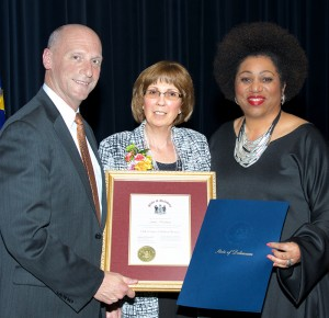 Delaware Hall of Fame Award Photo