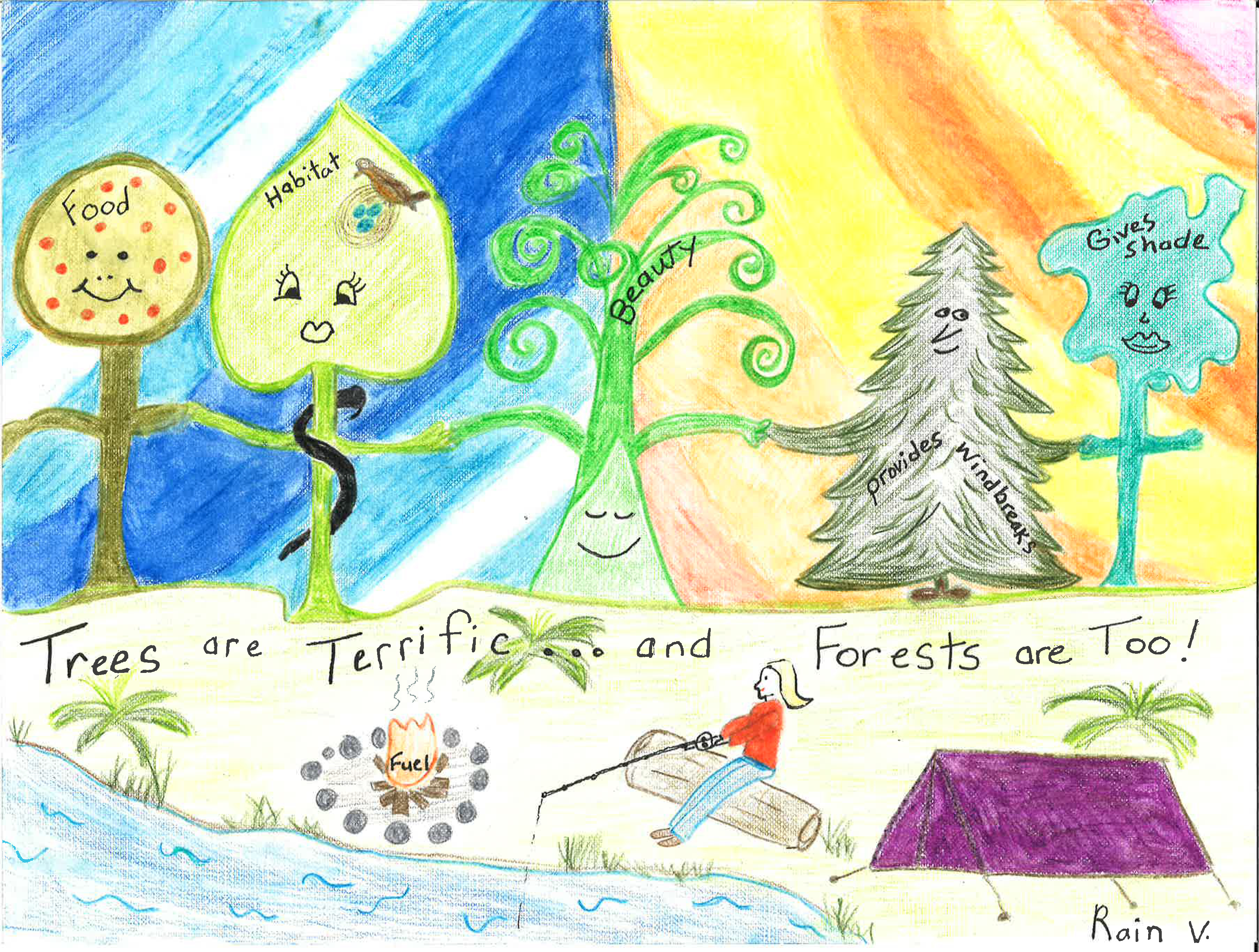 2016 Arbor Day School Poster Contest Winners State Of