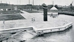View of Fort Christina in 1939.