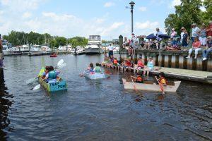 Rowing-in-the-Third-Annual-Cardboard-Regatta-sponsored-by-DNREC