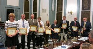 Trauma System Leaders honored for 20 years of continuous service