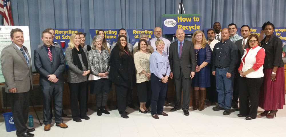 Recycling grants recipients