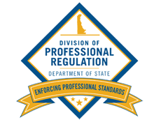 Picture of the Delaware Divison of Professional Regulation, Pro Reg logo
