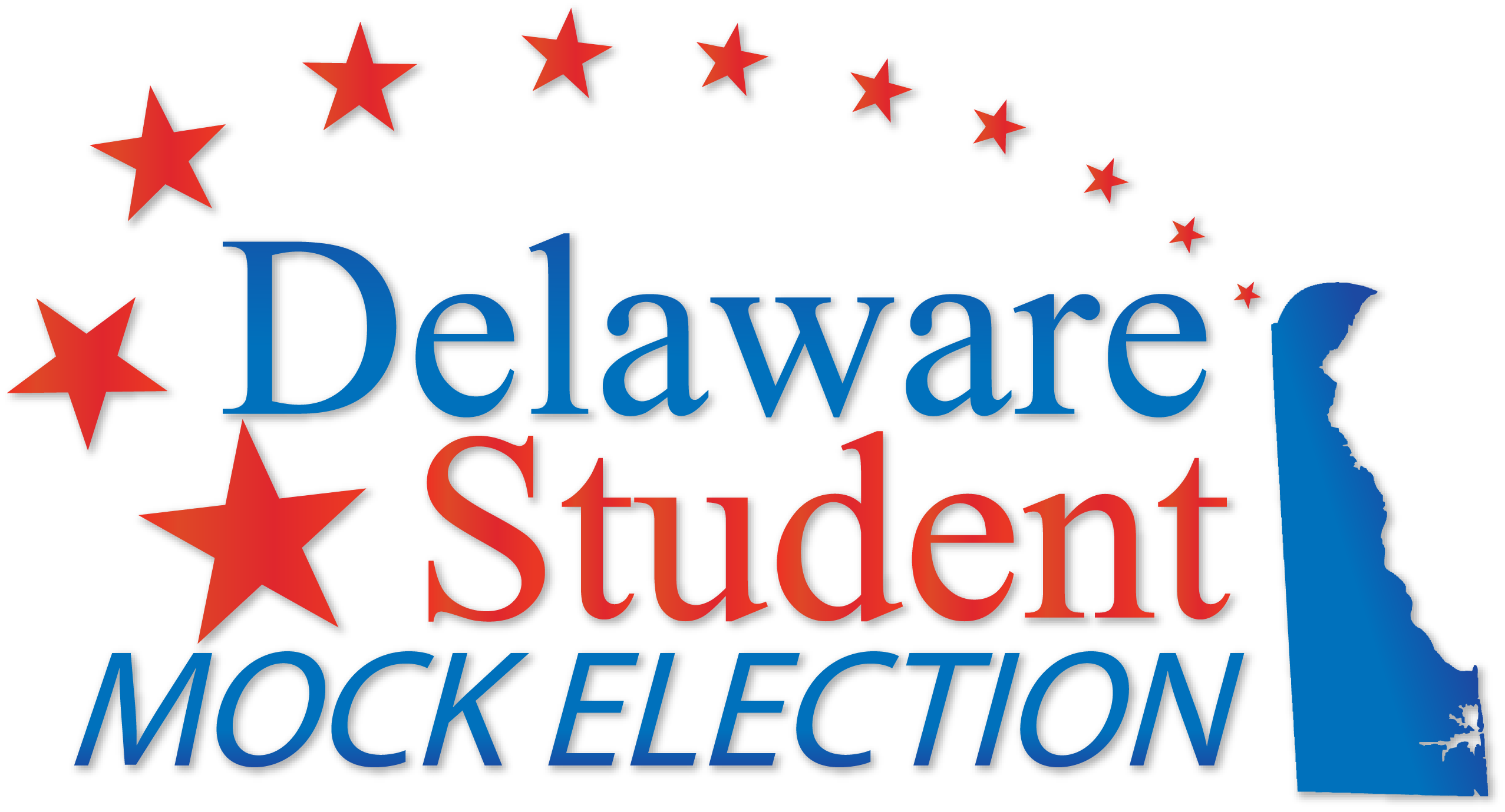 "Picture with the words ""Delaware Student Mock Election"
