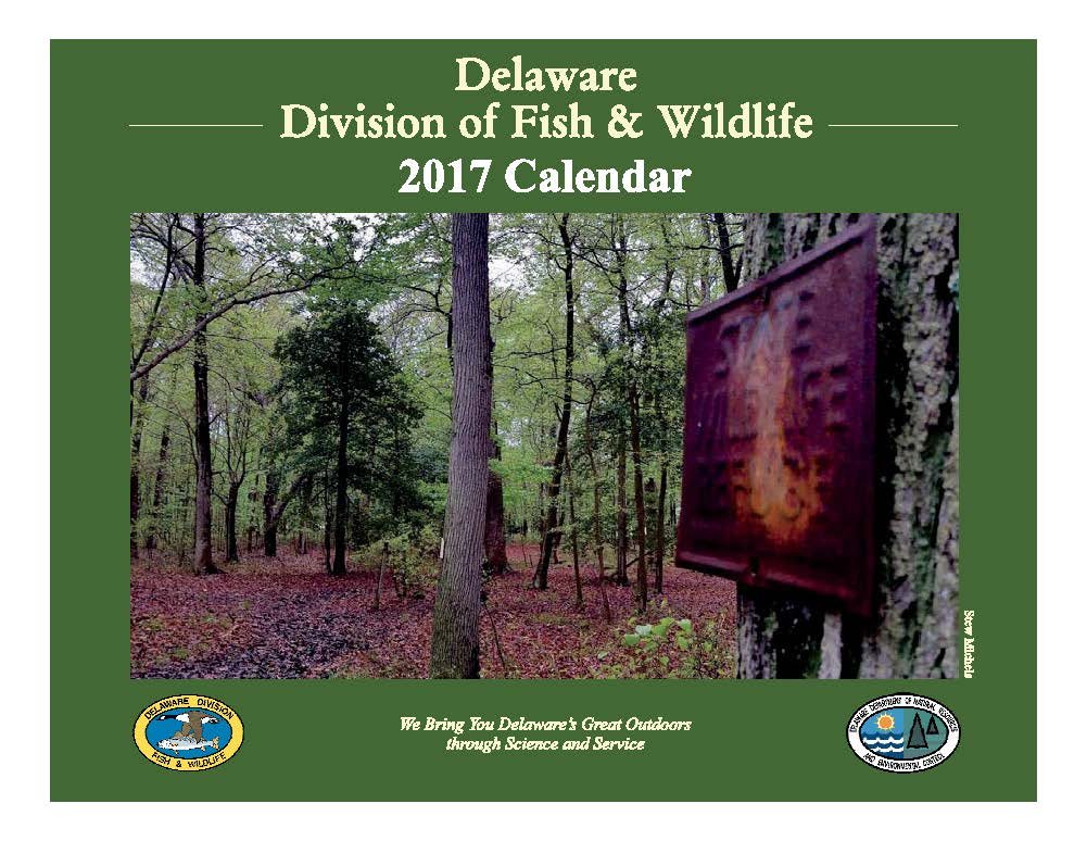 2017 division of fish wildlife calendar available now for Hunting and fishing times
