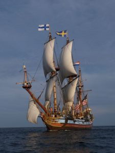 "The Kalmar Nyckel will be docked in New Castle for on-board tours on Sept. 9, 2017 as part of the festivities surrounding the opening of the exhibit, ""New Castle: Three Forts, One Community."""