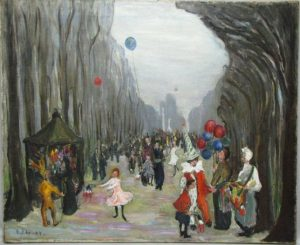 """Mardi Gras"" by Ethel Canby Peets."