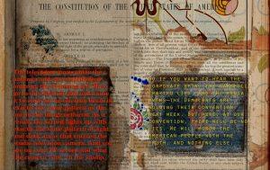 "ELECT/RICITY, 18"" x 12.5"", Artist's book, Digital prints, 2016"