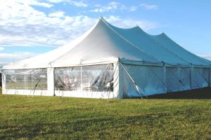 Tent from a previous Delaware Chautauqua.