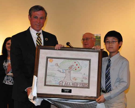 National conservation poster contest winner