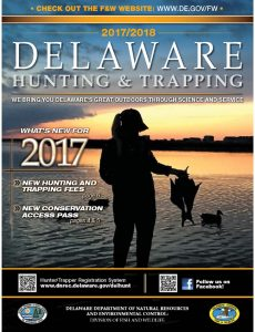 The 2017/18 Delaware Hunting & Trapping Guide is now available online and from license dealers.