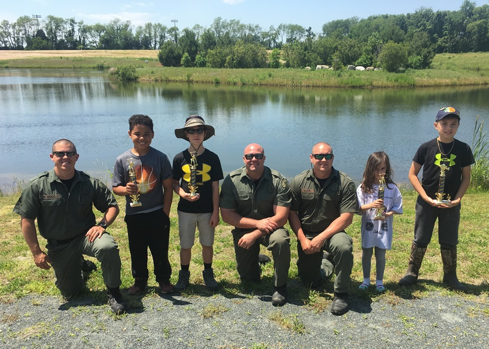Dnrec fish wildlife natural resources police announce for Fishing tournaments 2017