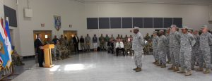 261st Signal Brigade Deployment Ceremony
