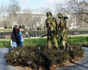 National Vietnam Veterans Memorial in Washington, D.C.